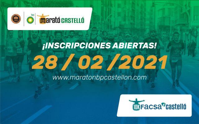 Inscripciones abiertas para la maratón del 2021