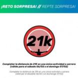 RETO EXTRA 21K